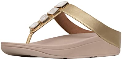 e6f9afd9c0a FitFlop Women s Fino Shellstone Toe-Thongs