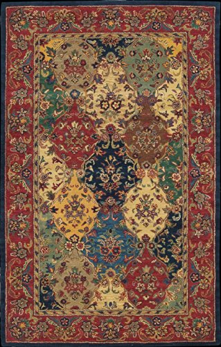 Nourison India House Multicolor Area Rug 8' x 10'6