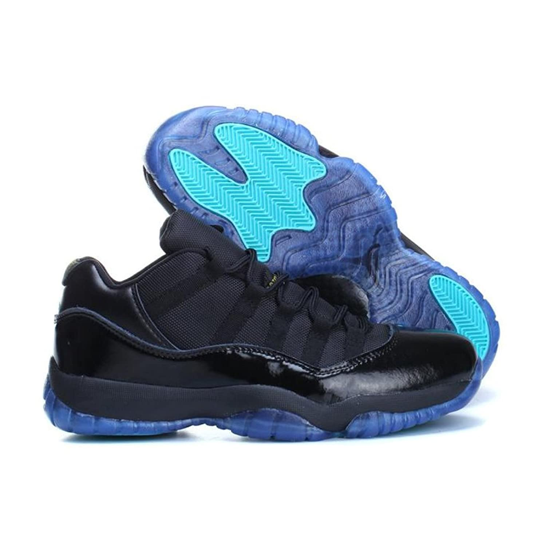 pretty nice 197ac 525d1 AIR JORDAN RETRO LOW 11 GAMMA BLUE 2014 black, gamma blue-varsity maize  Basketball