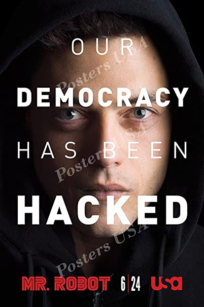 Mr Robot TV Show Series Poster Glossy Finish Posters USA TVS235