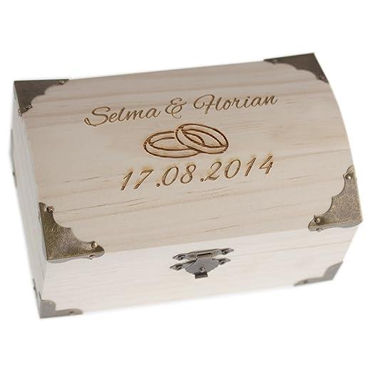 Geldgeschenk Hochzeit Verpackung Schatzkiste Ohne Schloss Hochzeit