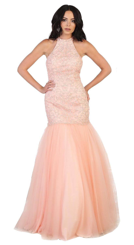 bluesh Royal Queen RQ7505 Red Carpet Evening Formal Dress