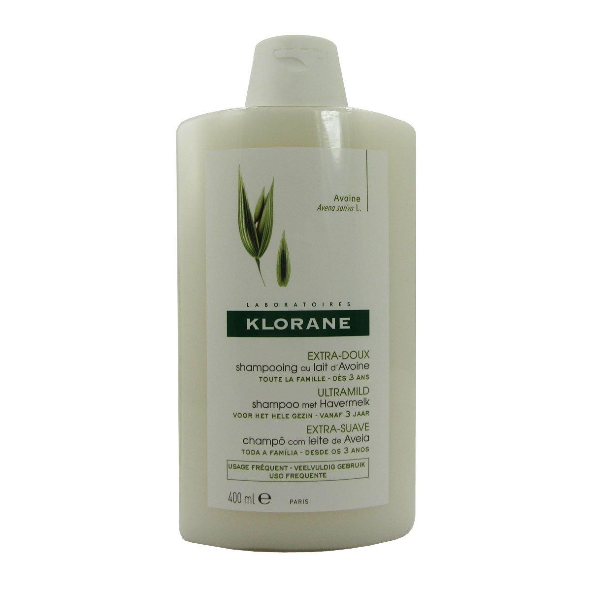 Klorane pelo Linea Leche de Avena Protección para desenredar Shampoo 400 ml: Amazon.es: Belleza