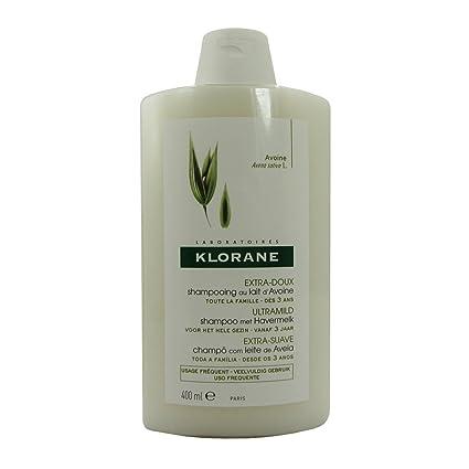 Klorane pelo Linea Leche de Avena Protección para desenredar Shampoo 400 ml