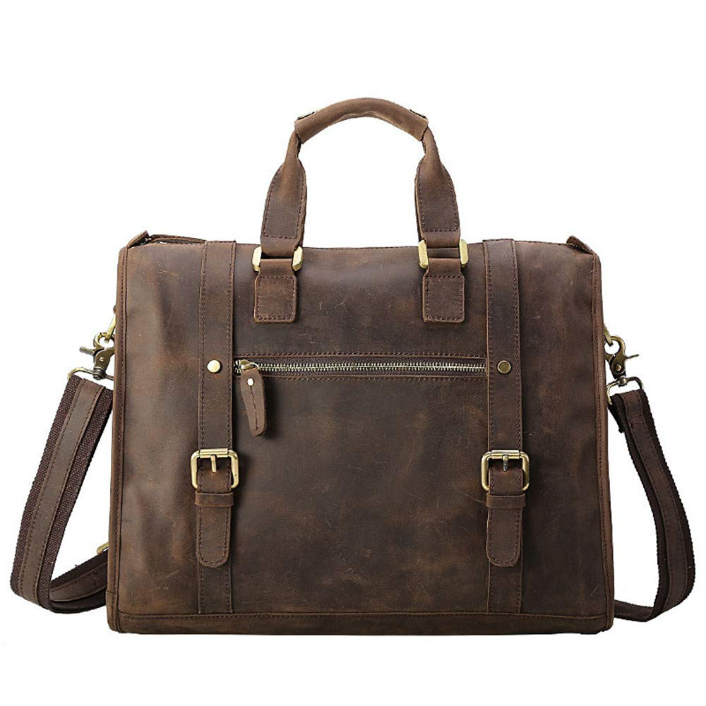 Xiejuanjuan Mens Handbags Mens Leather Tote Bags Computer Bags Business Bags Briefcases for Business Adults School Travel Handbag