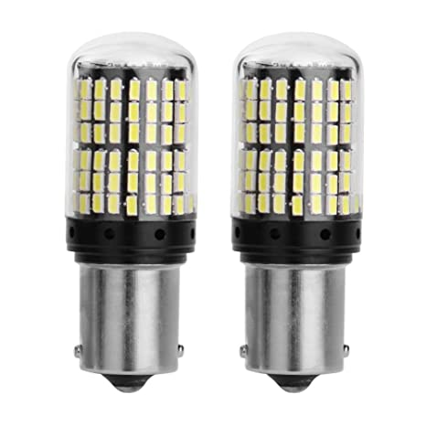 1 par de bombillas LED para intermitente de coche Asidue 1156 DC 12 V 10 W