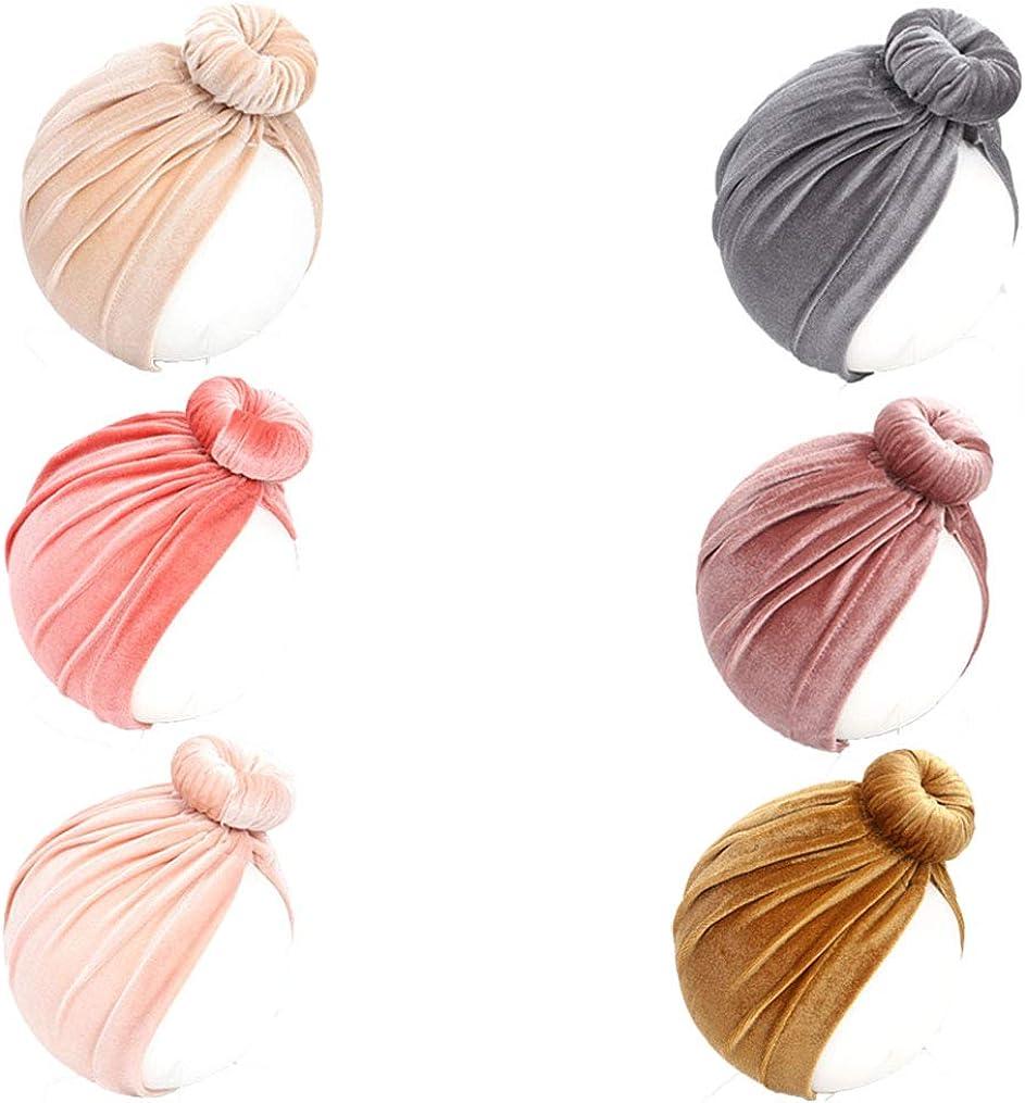 Baby Doughnut Stylish Turban Cotton Hat  0-6 Months