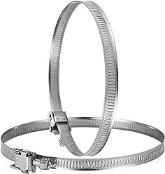 8 Tama/ños M1.2-M6 Virolas de Aluminio WiMas 340PCS Doble Ca/ñ/ón Clips de Mangas De Aluminio