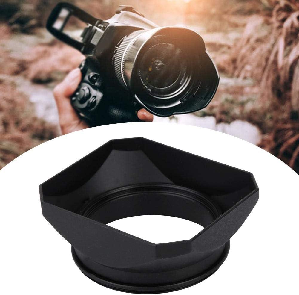55MM Camera Lens Hood Square Lens Hood Shade Accessory for Mirrorless Cameras Digital Video Camera Lens Filter for All Kinds of Cameras and Mirrorless Camera