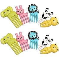 Tenedores infantiles con diseño de animales, ideales