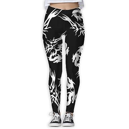 596b70774ddb4 WPE8 Chinese Dragon Lover Women S Workout Running Gym Tights Leggings High  Waist Yoga Pants