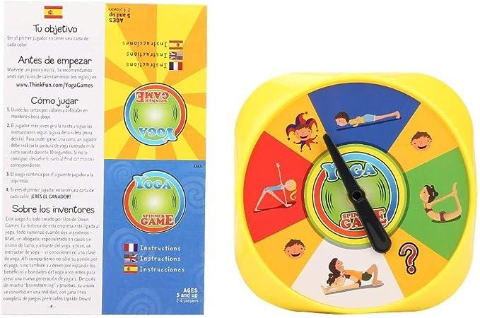 Duokon Tarjetas interactivas de Yoga para niños Juego Interactivo para Padres e Hijos Juego de Mesa de Yoga Ganador del Premio Juego para Amantes de la Yoga: Amazon.es: Hogar