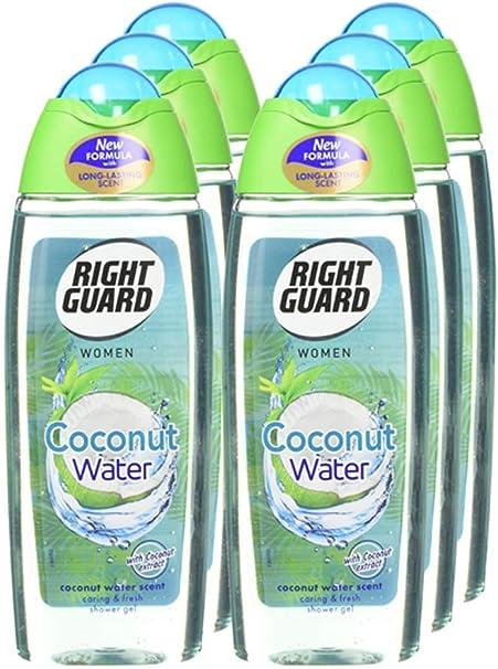 Right Guard Gel de ducha para mujer, pack de 6: Amazon.es: Belleza