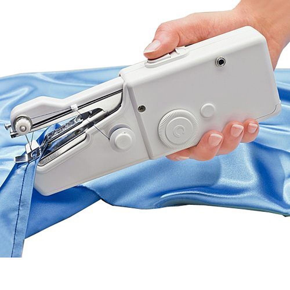 Smart Tailor Handy Stitch Mini Hand Sewing Machine (White)