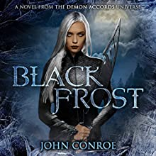 Black Frost Audiobook by John Conroe Narrated by James Patrick Cronin