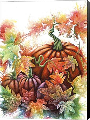 Autumn Pumpkins by Michelle Faber Canvas Art