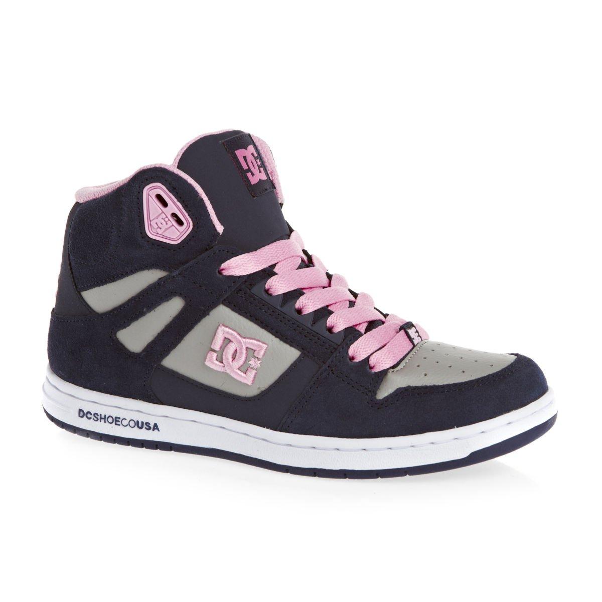 DC Youth Rebound Skate Shoes B00BW1ARNG 7.5 M US|Navy