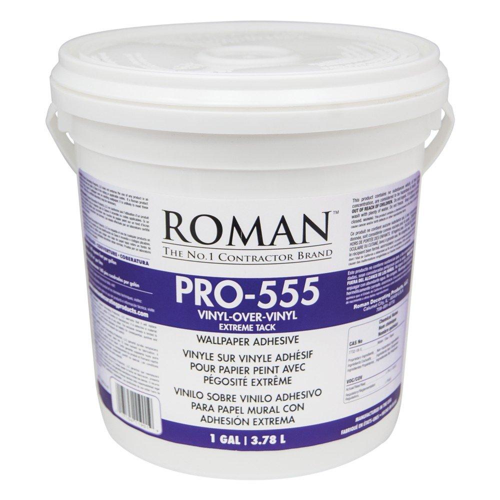 Roman 011901 PRO-555 1 gal Extreme Tack Wallpaper Adhesive
