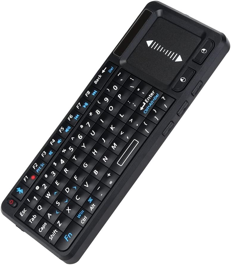 Veepola Universal 2.4G Wireless Mini Keyboard with Touchpad for PC Smart TV
