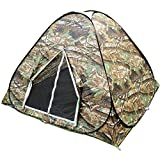 BZ-TANG Explorer Outdoors 3-4 Persons Camouflage Camping Hiking Easy Setup Instant Pop up Tent