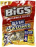 BiGS Old Bay Seasoned Sunflower Seeds 5.35oz Bag (Pack of 96)