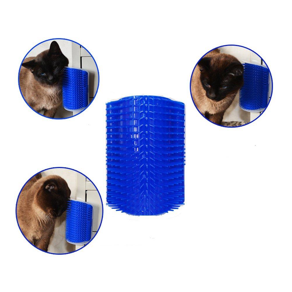 Con Hierba Gatera Y Agente Autoadhesivo Utilizado Para Masaje De Mascotas JJYHEHOT Masajeador Para Gatos 2 Piezas Depilaci/ón Rascado
