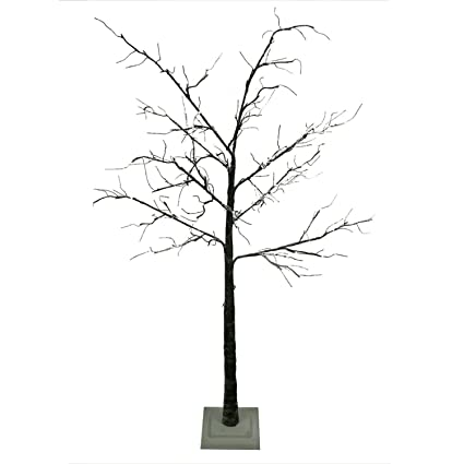 quality design e2534 0cec8 Northlight 6' LED Lighted Flocked Christmas Twig Tree Outdoor Decoration -  Warm Clear