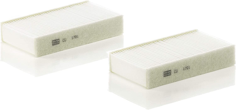Mann Filter CU23001-2 Filtre dHabitacle