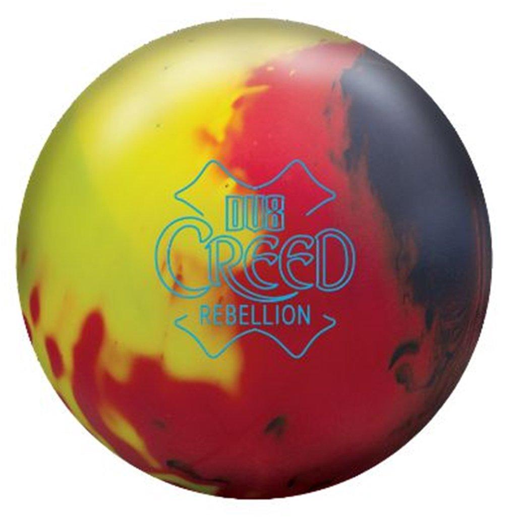 dv8 dv8 Creed Rebellion製品Bowlingボーリングball-レッド/イエロー/ネイビーソリッド B07DR7RDBY 15lbs
