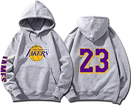 SHPP Los Angeles Lakers Lebron James # 23 Retro Basketball