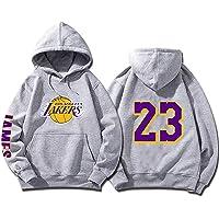 SHPP Los Angeles Lakers Lebron James # 23 Jersey de Baloncesto Retro Uniforme de Baloncesto Tops Unisex Sudadera con…