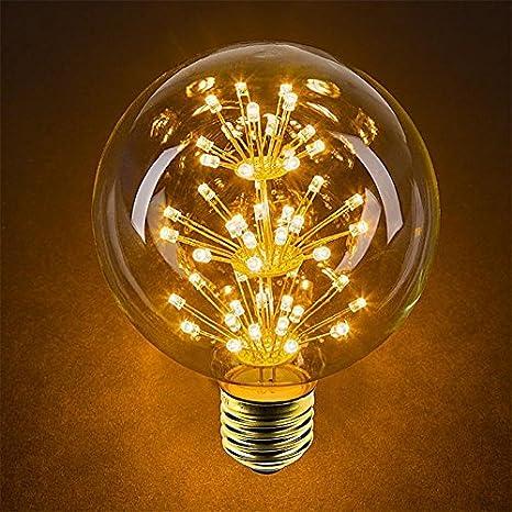 Paquete de 4 Iluminación Vintage, VSOAIR Bombillas LED con ...