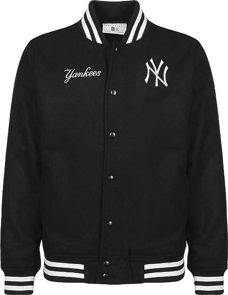 A NEW ERA ERA Era York Yankees Team Apparel Bomber Jacket ...