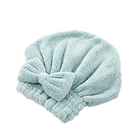 Doitsa Mujer Toalla para el Cuidado del Cabello Wrap Absorbente Secado rápido Toalla baño Microfibra para