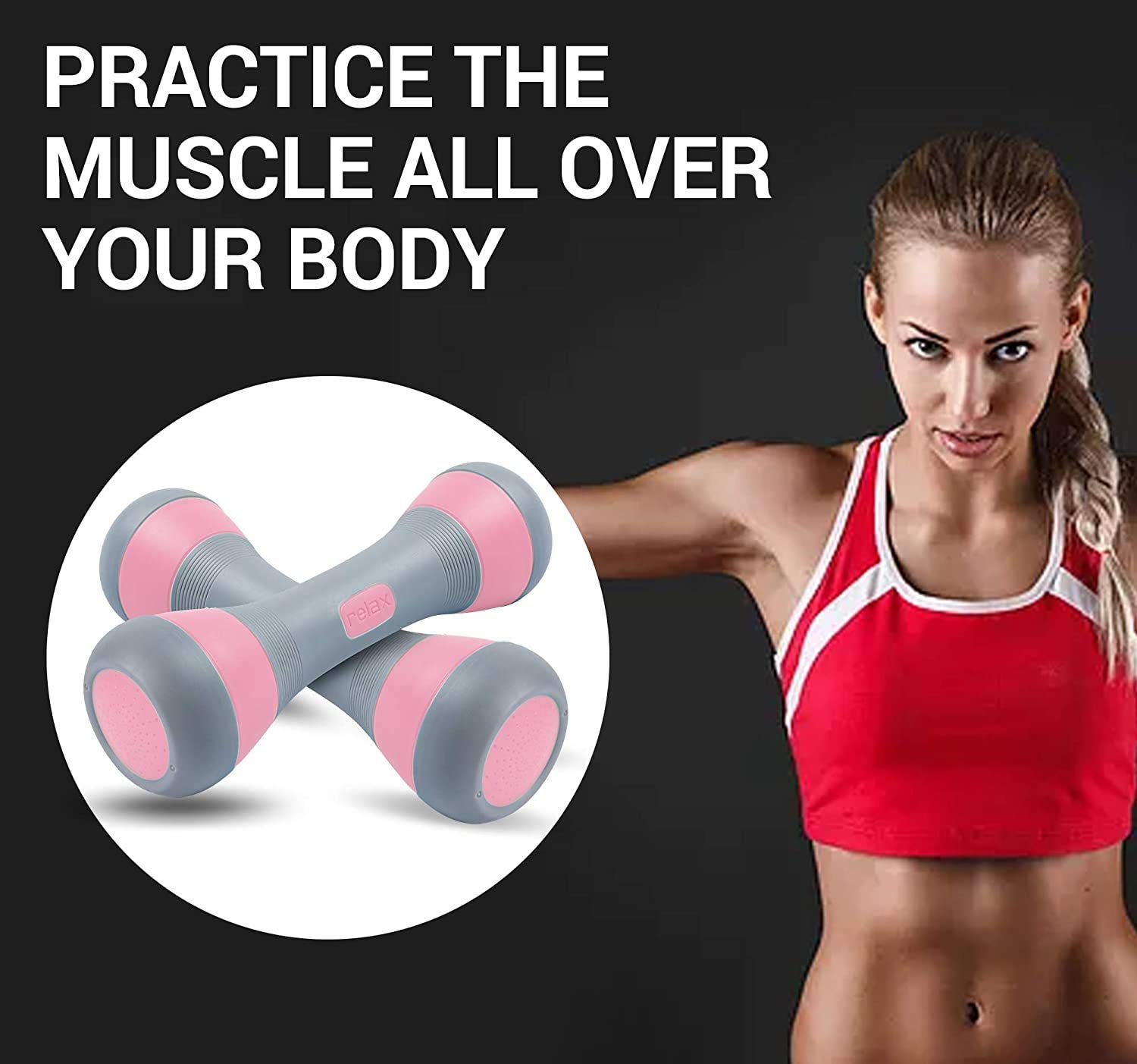 Adjustable Dumbbell Weight Pair
