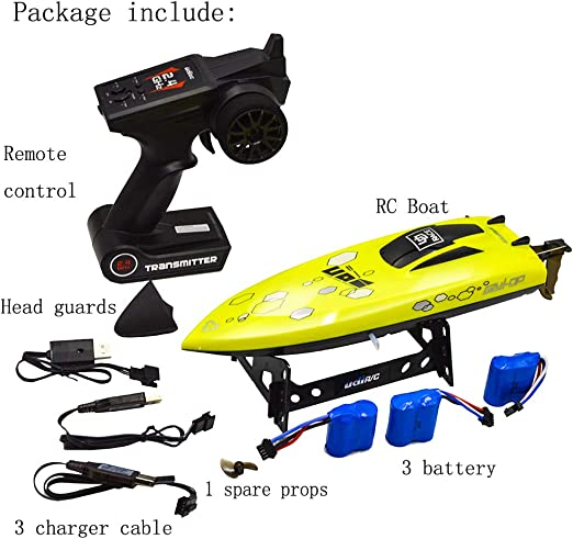 Toys & Games Hobbies Bloimky UD08 2.4GHz 25KM/H High Speed RC Boat ...