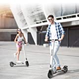 APP Electric Scooter Adults,LCD Display,Fixed Speed Cruise,USB Charger,30KM Long-Range,3 Speed Adjustable,8 inch Dual 350w High Power Motors,Ultra Lightweight,3 seconds Folding E-Scooter for