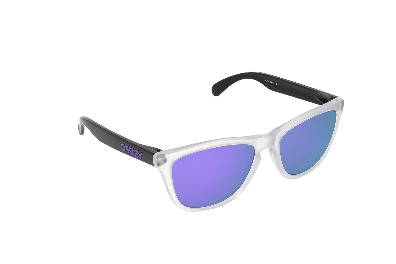 Oakley Frogskins 24-419 Gafas de Sol, Matte Clear, 55 para Hombre ...