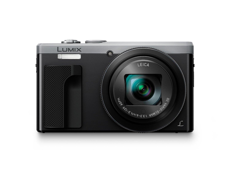 Panasonic LUMIX DMC-ZS60 Camera, 18 Megapixels, 1/2.3-inch Sensor, 4K Video, WiFi, Leica DC Lens 30X F3.3-6.4 Zoom (Silver) (International Model) No Warranty by Panasonic