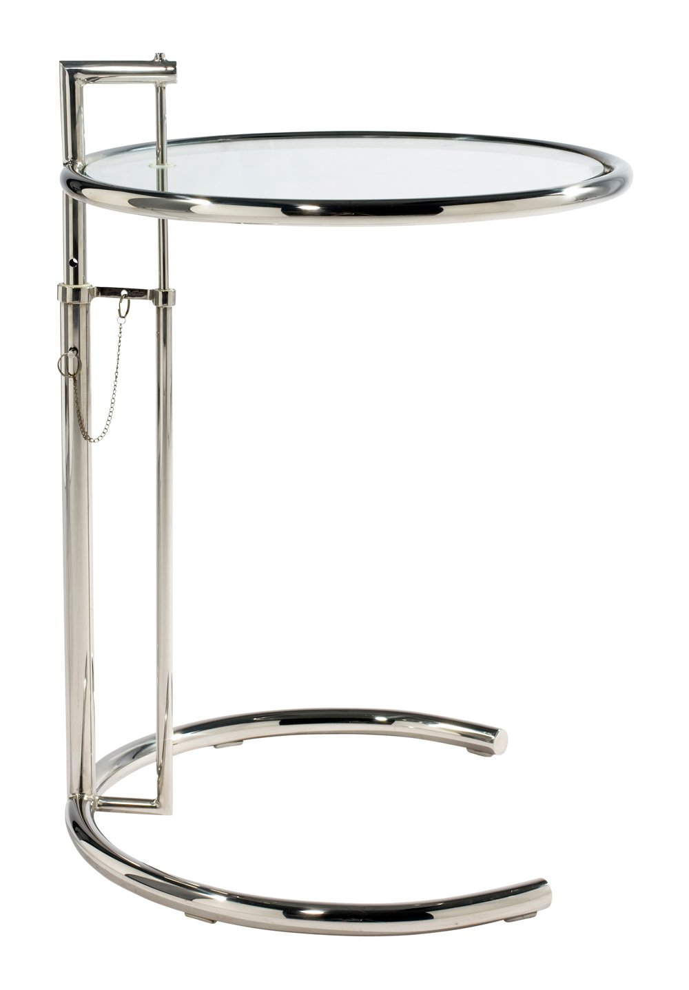 Eileen Gray Style Cocktail Table - Chrome Vita Interiors