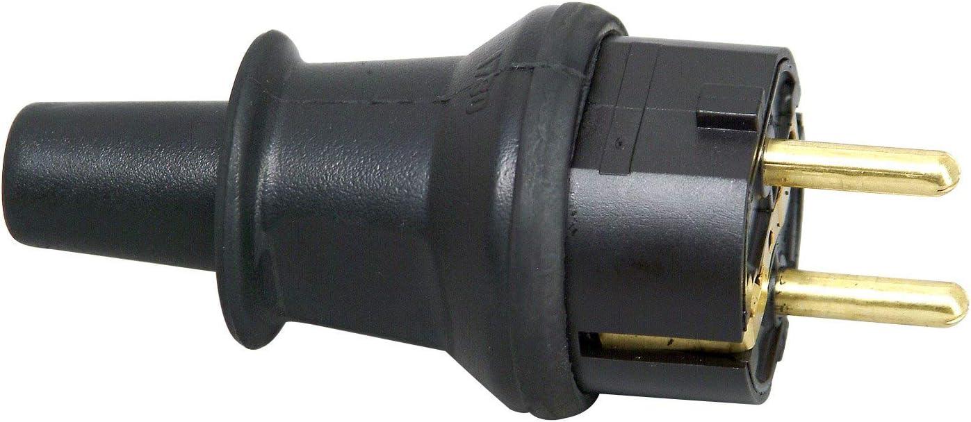 Kopp 173004009 Fiche terre avec protection anti-pli Gris