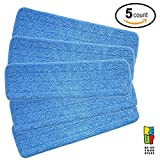 Microfiber Spray Mop Replacement Heads for Wet/Dry Mops by Re-Up...