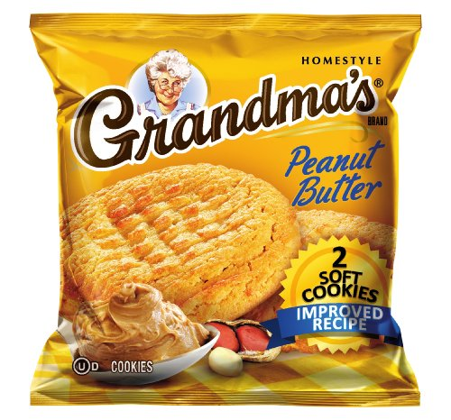 - Grandma's Soft Cookies, Peanut Butter, 5-Count (Pack of 6)