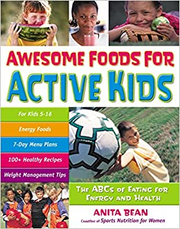 Book AWESOME FOODS FOR ACTIVE KIDS