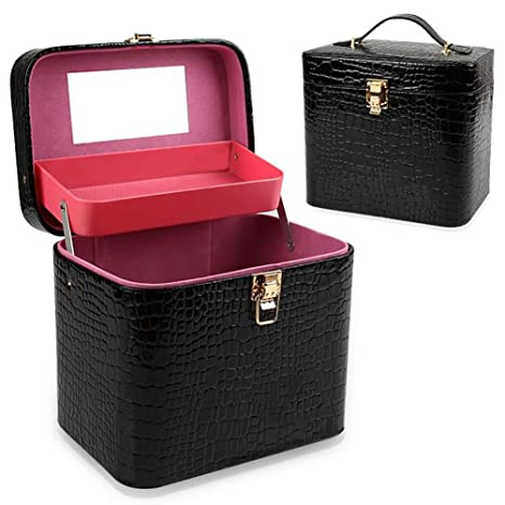 JYZ Estuche de Maquillaje,Beauty Box Travel Maquillaje de ...