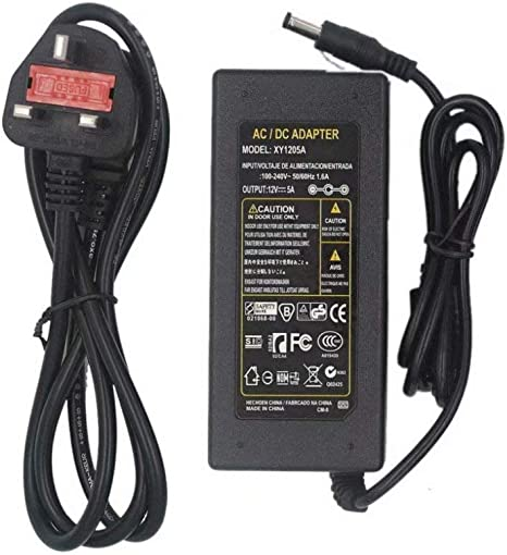12V ACDC POWER SUPPLY ADAPTER CHARGER