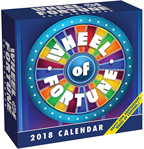 Wheel Of Fortune 2018 Day To Day Calendar Import It All