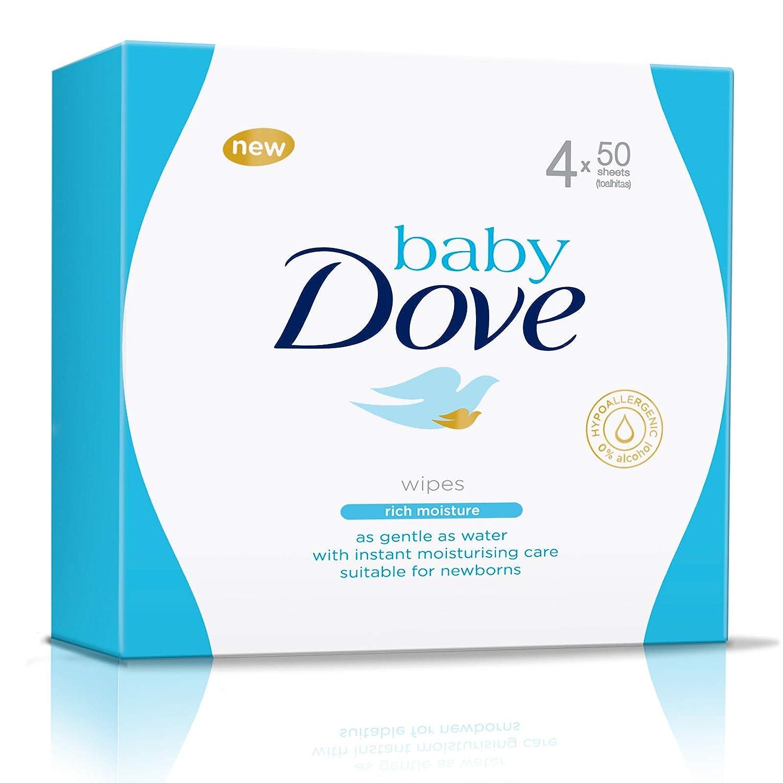 Baby Dove Toallitas Hidratación Profunda - pack de 3: Total 600 toallitas: Amazon.es: Salud y cuidado personal