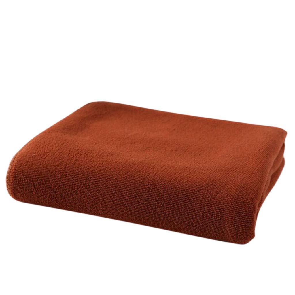 Kofun Handtuch, 70X140Cm Saugfähige Mikrofaser Trocknen Bad Strandtuch Waschlappen Bademode Kaffee