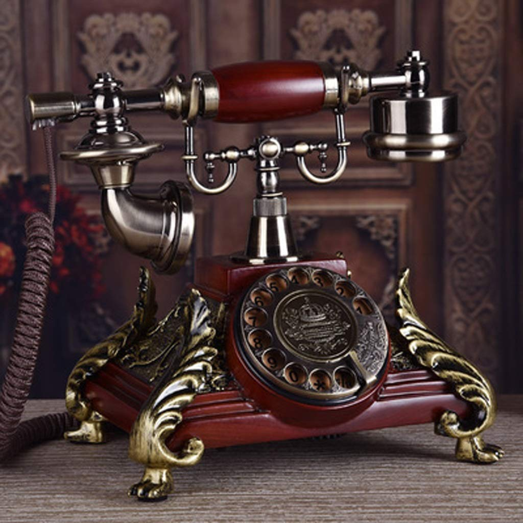 Lsxlsd Classic Retro Antique Telephone Office Home Phone Home Decor (Color : C) by Lsxlsd